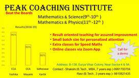 Maths, Science , Physics cbse board coaching/Tuitions