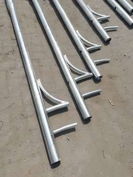 Street Lighting Poles Solar poles structural towers overhead line pole
