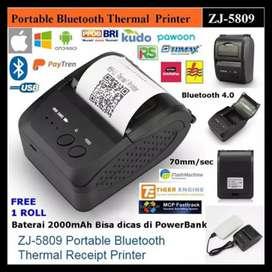 Printer kasir bluetooth ( pakai baterai )