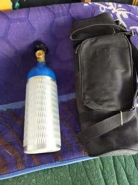 Tabung oksigen 2liter + bag + selang