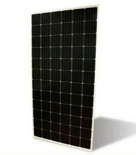Surya panel listrik tenaga matahari ramah lingkungan hemat energi