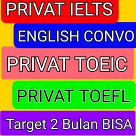 Les Privat Bahasa Inggris IELTS TOEFL TOEIC Conversation Makassar