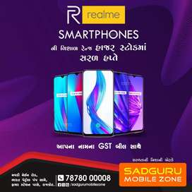 REAL ME ALL MODEL AVAILABLE WITH GST BILL