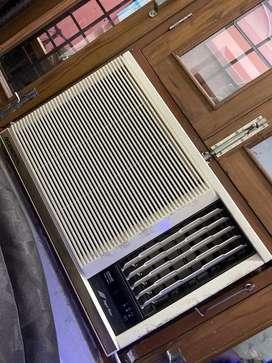 O-General 1.5 Ton window AC with V-guard stabilizer