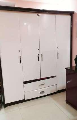 Brand new, unused big white wardrobe