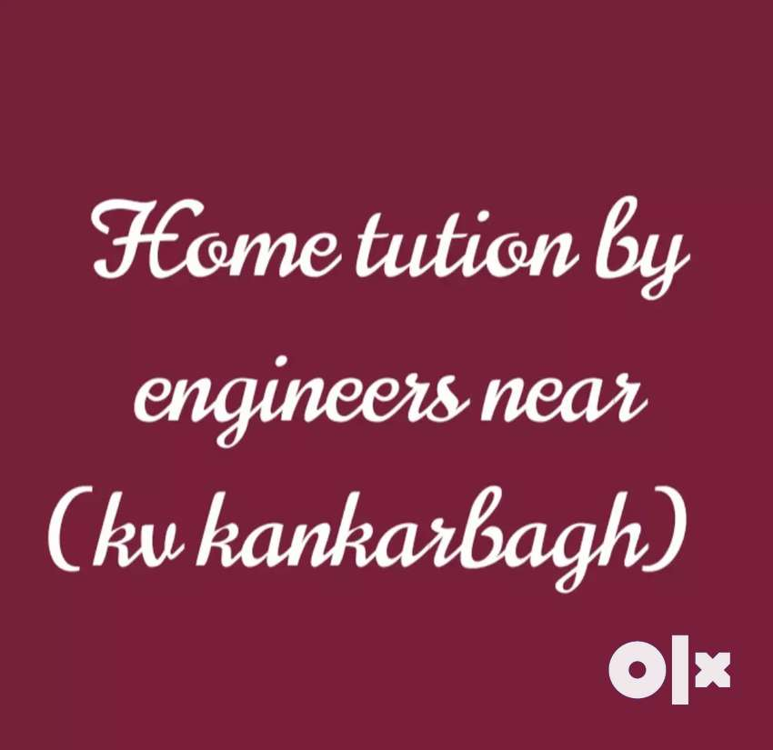 Home tution by engineers..