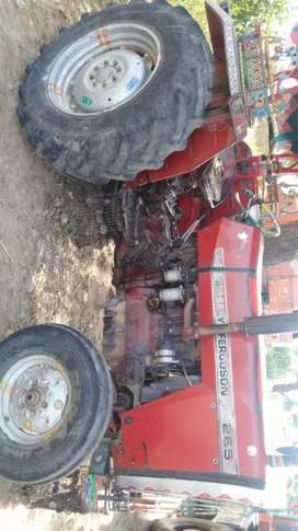 Tractor messy