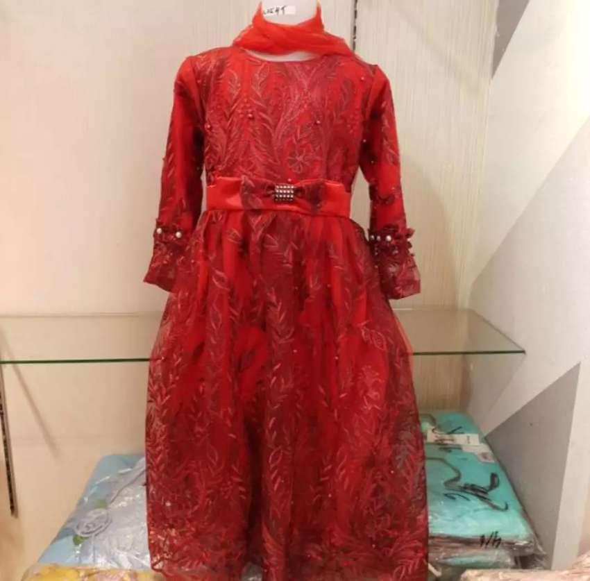 Busana muslim mewah anak baju muslim pesta glamor anak 0