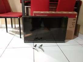 "Jual Bos  Tv Led 32"" Sharp Smart Tv kaki2 model LC-32SA4500i (Fullset)"