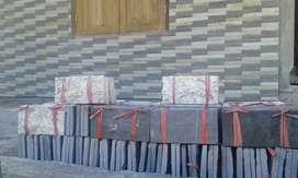 Tersedia batu alam jenis marmo harga  145rb permeter isi 50 biji