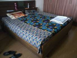 Double Bed, King Size, Two Tone