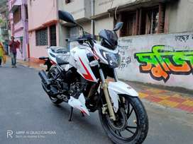 TVS APACHE RTR 200 4V 2018 race edition 2.0 bs4 model sale at 70500