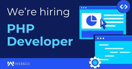 Urgent Need Of PHP Developer In Gwalior | Full Time Office Job