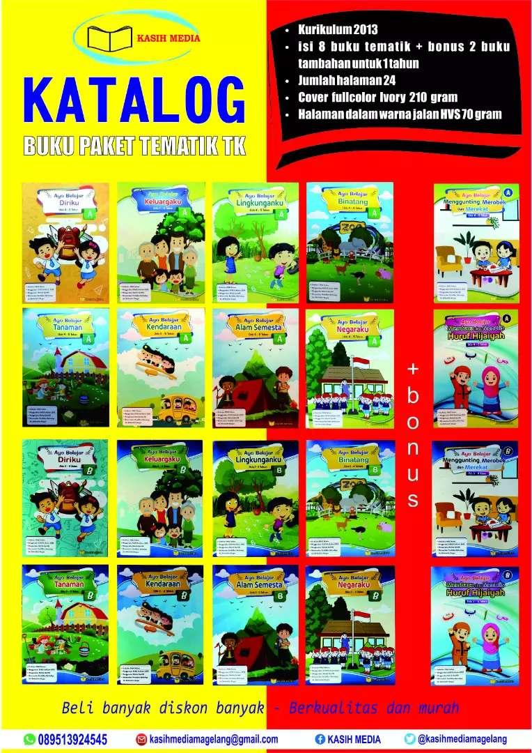 Buku paket tematik TK 0