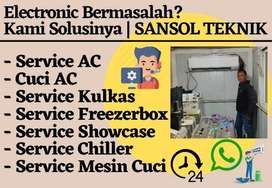 Service AC KULKAS Servis Freezer Showcase Mesin Cuci Gubeng Surabaya
