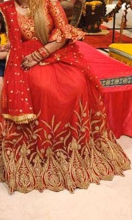 designer heavy zari work floor leanth anarkali dress