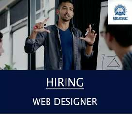 WANTED  EXPERT  WEB DESIGNER - MALE