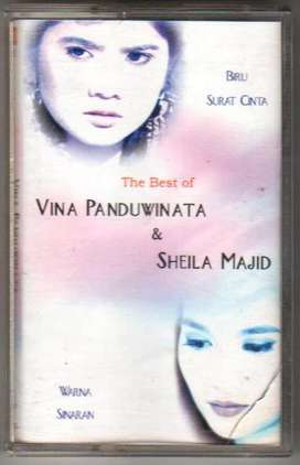 Kaset The Best Of Vina Panduwinata & Sheila Majid