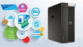 DELL T7810 Workstation with 1 year warranty with dual processor system