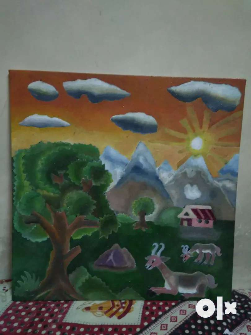 Handmade Painting (Oil On Canvas) 0
