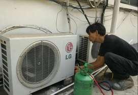 Service panggil perbaikan AC kulkas mesin cuci bergaransi
