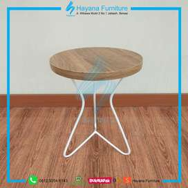 Meja Cafe / Coffee Table Laminated PVC Sheet (CT1813)