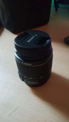 Lensa kit Canon 1200D