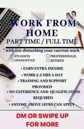 Work part full time