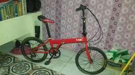 Dijual Sepeda Lipat Bekas