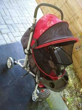 Kereta bayi merk pliko