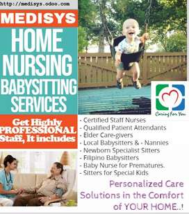 Babysitter , Nanny, maid, cook,Nurse, Attendant, driver available