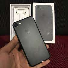 iPhone 7 128GB Ex Apple Inter Lengkap Mulus FullSet Bisa TT/SPLIT