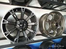 Velg Mobil R17x9 HSR Cocok untuk Pajero Fortuner