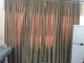 Slightly used curtains