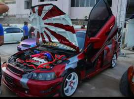 Honda car modify urgent sale