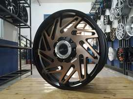 Sedia velg mobil import ring 20 HSR for pajero fortuner strada triton