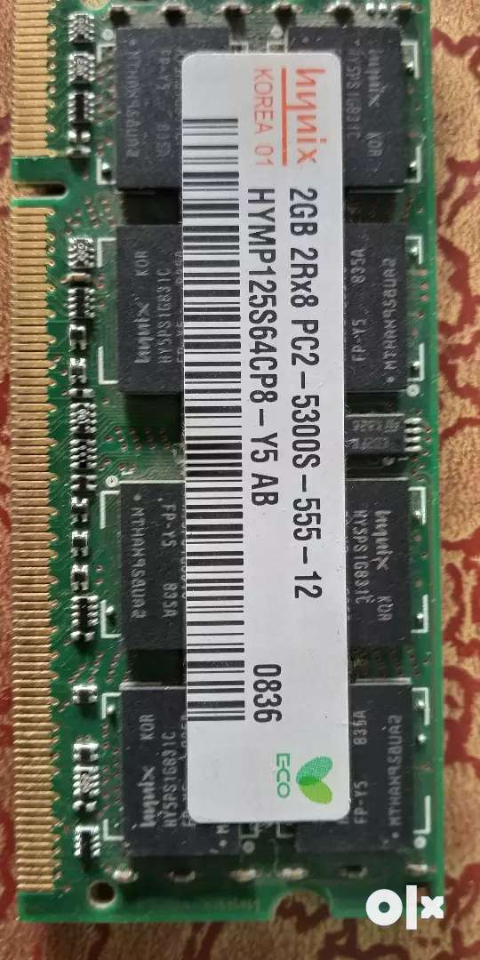 Laptop RAM 2gb