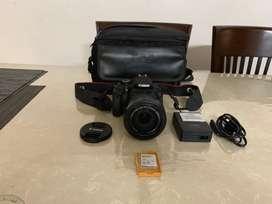 Canon 600D DSLR with 18-135 lens