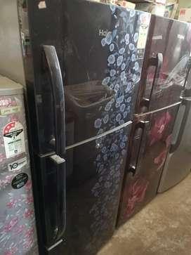 Haier doub door fridge new