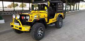 Customized jeep