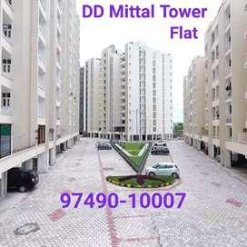 DD mittal tower 2 bhk Flat, furnished & unfurnished