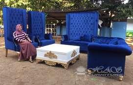 Jual Set Sofa Tamu Wing Chair