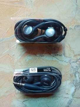 Earphone / Headset Samsung AKG Original, Copotan dari S9+ Suara Jernih
