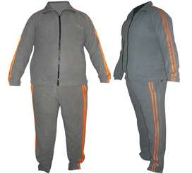 Track suit made of Pollard fleece