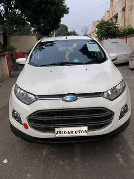 Ford ecosport titanium top model with push start
