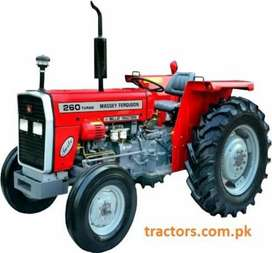 260 messy tractor Availle on easy instalmnt plan
