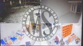 SIAP PASANG !! CCTV Brand SPC paket pasang 4 channel Camera 2mp