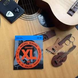 Senar gitar listrik elektrik D'adario EXL 110