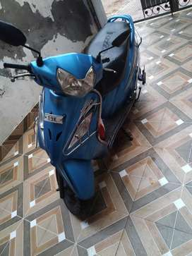 Tvs wego scooty , better than activa , blue colour