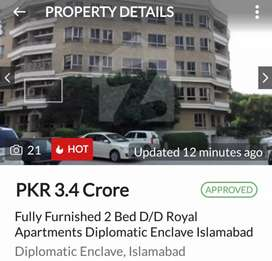 Royal Apartmetments Diplomatic Enclave Islamabad